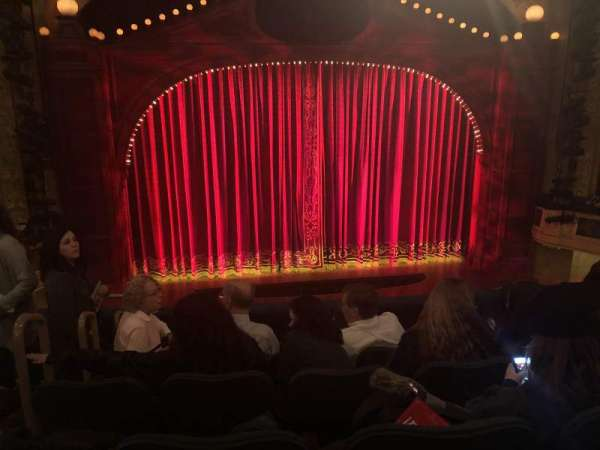 Shubert Theatre, section: Mezzanine C, row: F, seat: 113