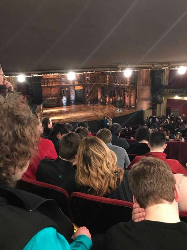 CIBC Theatre, section: Dress Circle l, row: E, seat: 3