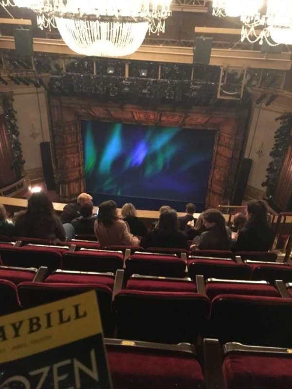 St. James Theatre, section: Balcony C, row: H, seat: 103