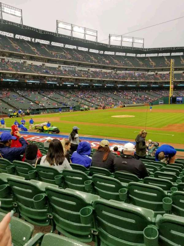 Globe Life Park in Arlington, section: 34, row: 15, seat: 6