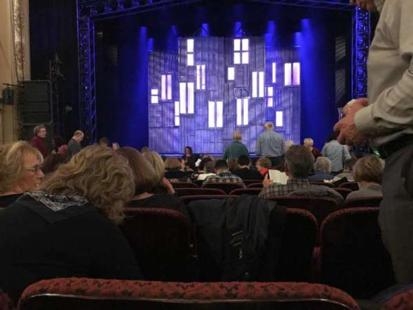 Citizens Bank Opera House, section: ORCCTR, row: G, seat: 103