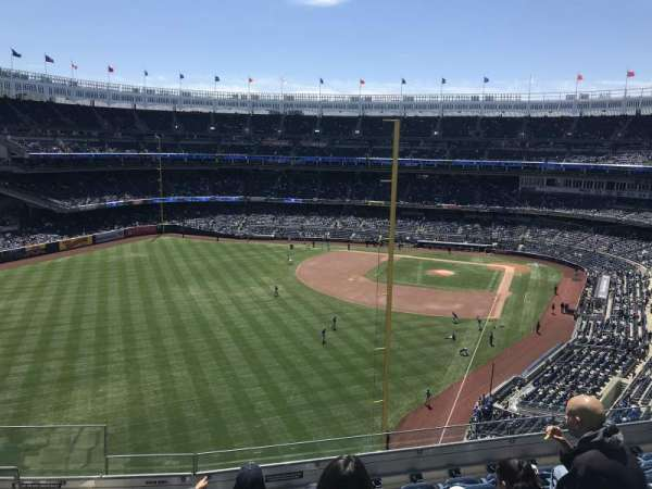 Yankee Stadium, section: 332B, row: 7, seat: 20