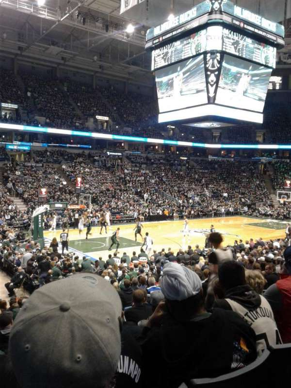 BMO Harris Bradley Center, section: 203, row: R