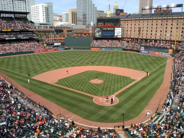 Oriole Park at Camden Yards, section: 340, row: 2
