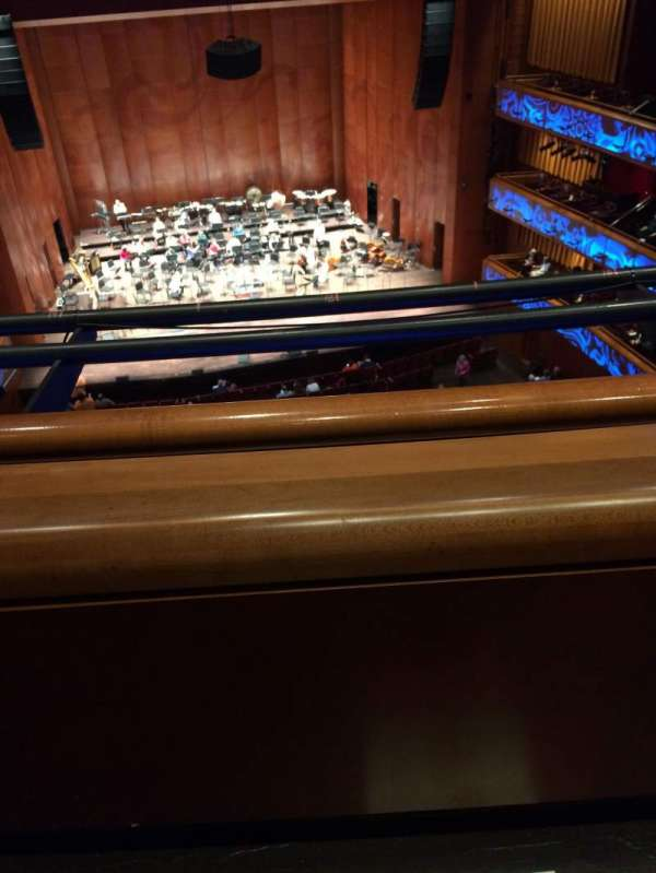 Tobin Center for Performing Arts, section: Balcony, row: 1st, seat: Not the 2