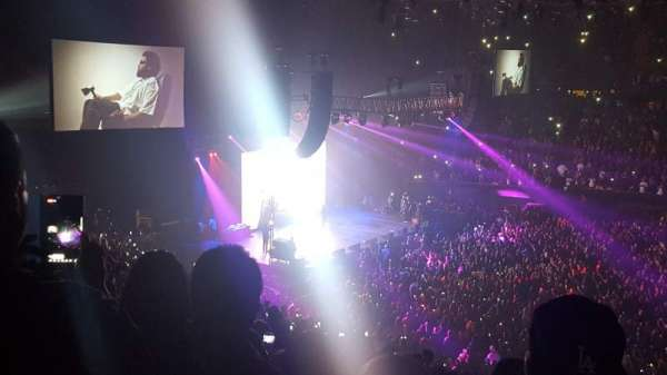 The Forum, section: 227, row: 7, seat: 13