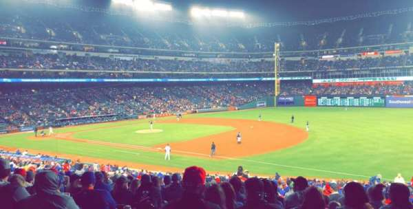 Globe Life Park in Arlington, section: 37, row: 32, seat: 3