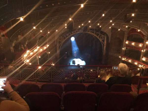 Lyric Theatre, section: Balcony L, row: F, seat: 11