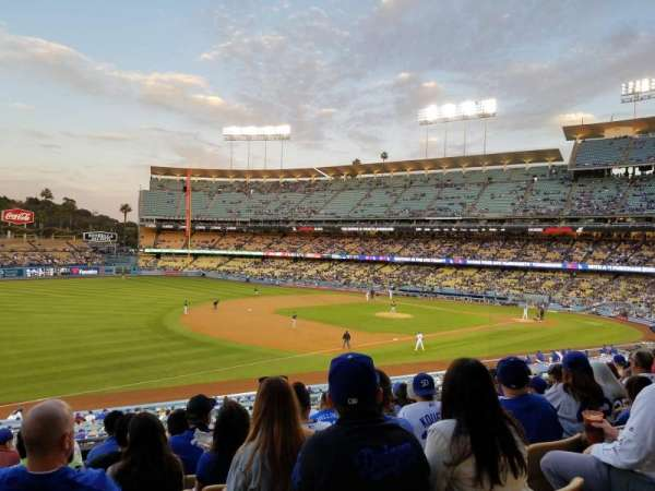 Dodger Stadium, section: 149LG, row: J, seat: 4