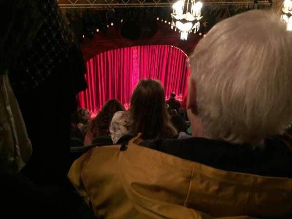 Shubert Theatre, section: Balcony L, row: J, seat: 9