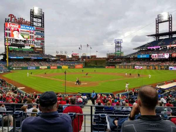 Citizens Bank Park, section: 123, row: 23, seat: 6