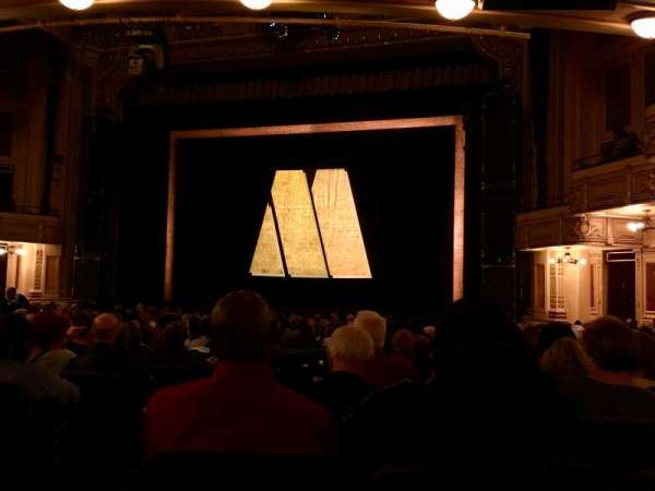 Hippodrome Theatre, section: Orchestra Right, row: T, seat: 4
