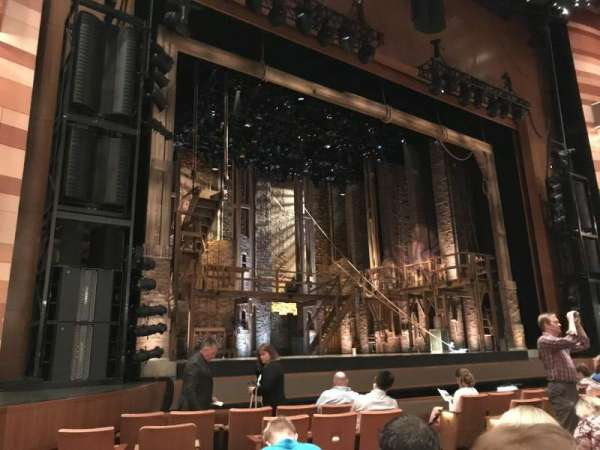 Eccles Theater, section: Orchestra L, row: G, seat: 118
