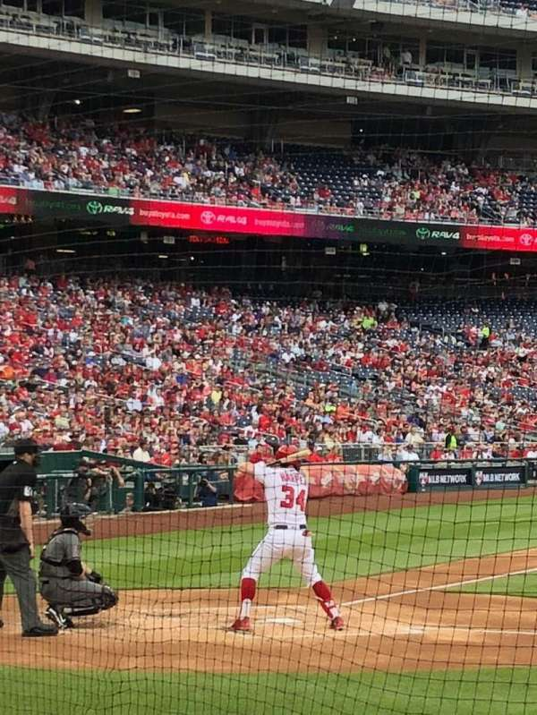 Nationals Park, section: 128, row: H, seat: 14