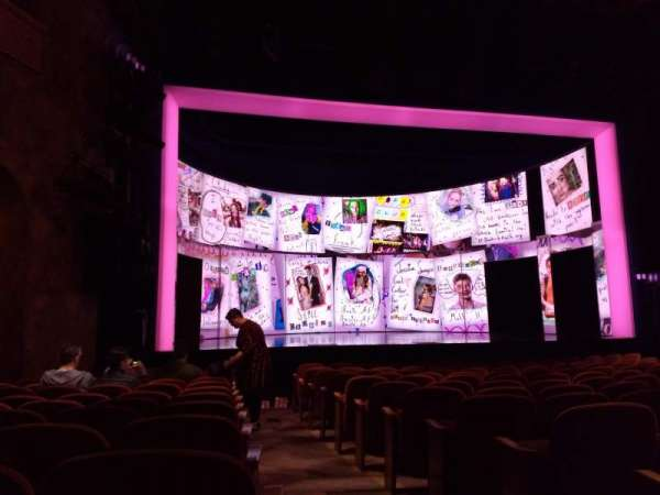 August Wilson Theatre, section: Orchestra L, row: M, seat: 1