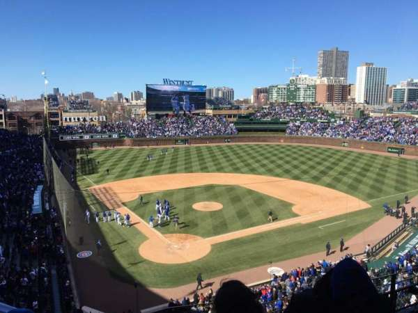 Wrigley Field, section: 423, row: 6, seat: 101,102