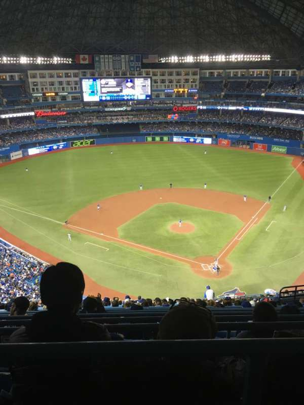 Rogers Centre, section: 526R, row: 21, seat: 12