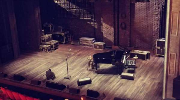 Walter Kerr Theatre, section: Mezzanine R, row: E, seat: 14