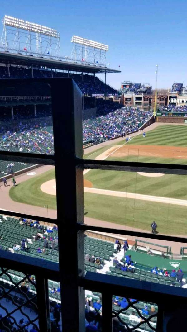 Wrigley Field, section: 324R, row: 1, seat: 1