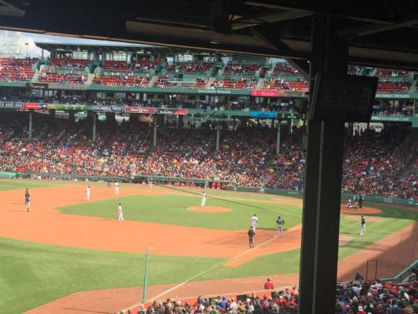 Fenway Park, section: Grandstand 32, row: 14, seat: 13