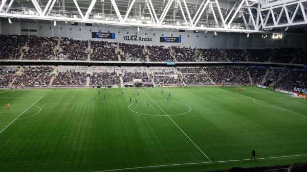 Tele2 Arena, section: B306, row: 12, seat: 271