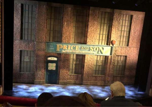 Al Hirschfeld Theatre, section: MezzC, row: C, seat: 115