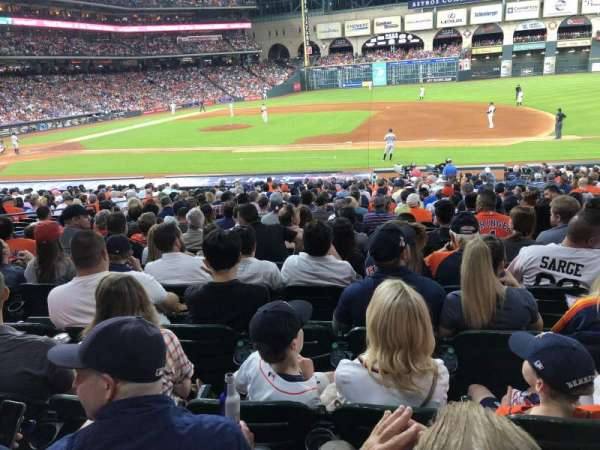 Minute Maid Park, section: 126, row: 25, seat: 11,12,13