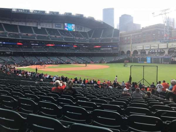 Minute Maid Park, section: 132, row: 26, seat: 15