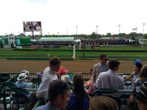 Churchill Downs, section: 316, row: C, seat: 2