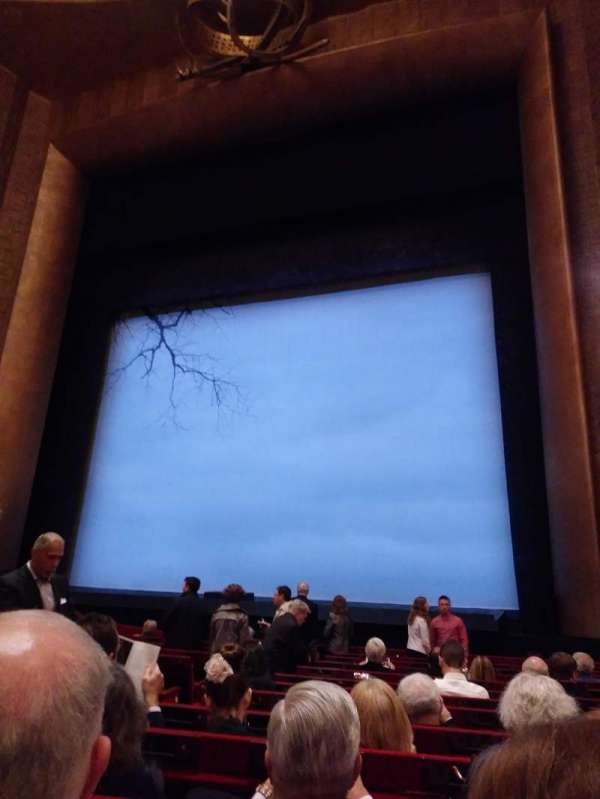 Metropolitan Opera House - Lincoln Center, section: Orchestra, row: L, seat: 8