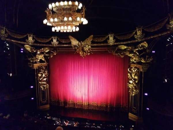 Majestic Theatre, section: Front Mezzanine R, row: E, seat: 2