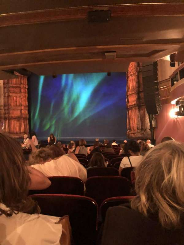 St. James Theatre, section: Orchestra R, row: P, seat: 24