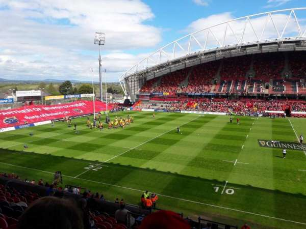 Thomond Park, section: 216, row: P, seat: 137