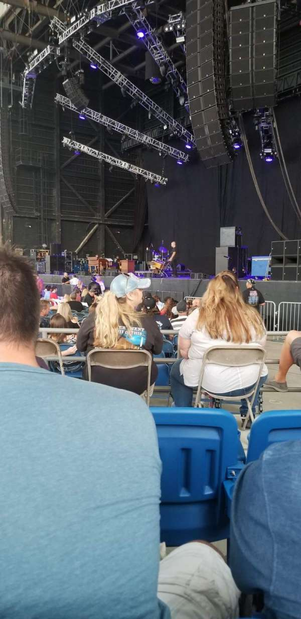 MidFlorida Credit Union Amphitheatre, section: 7, row: D, seat: 16