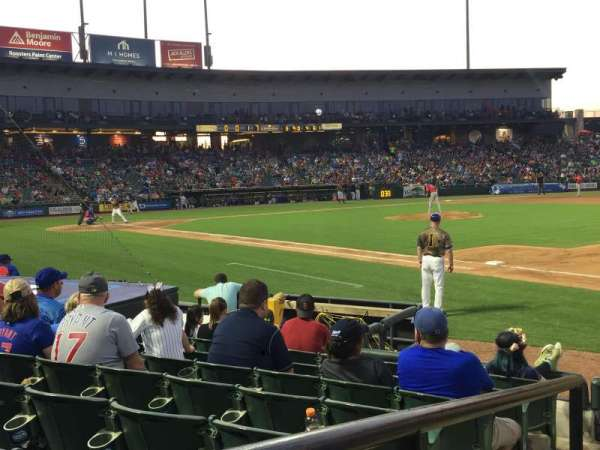Dell Diamond, section: 125, row: 8, seat: 1
