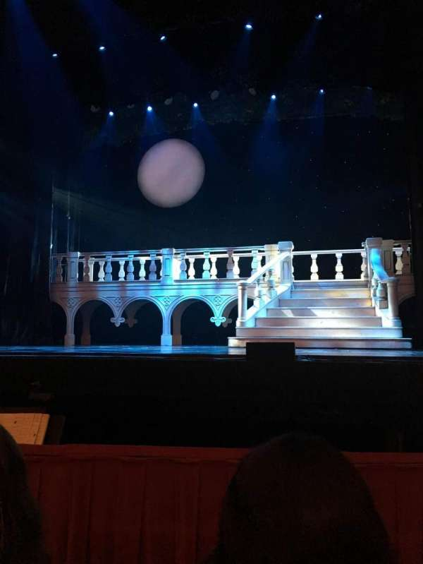 Cadillac Palace Theater, section: Orchestra C, row: B, seat: 114