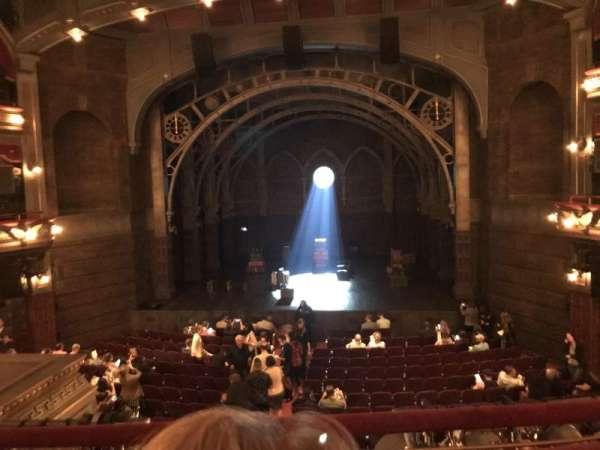 Lyric Theatre, section: Dress Circle C, row: B, seat: 116