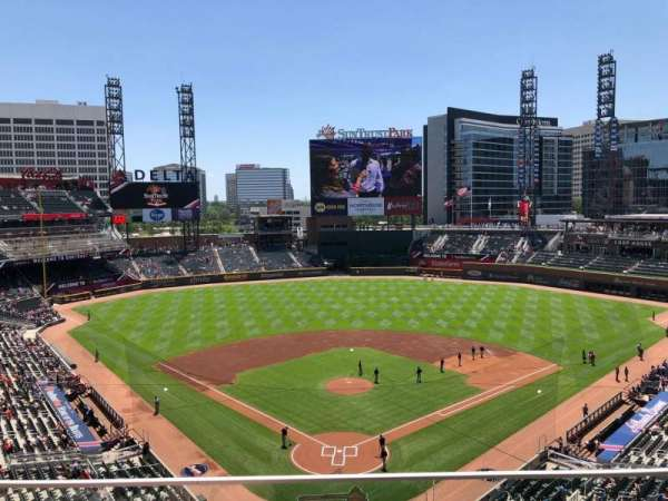 SunTrust Park, section: 326, row: 2, seat: 6