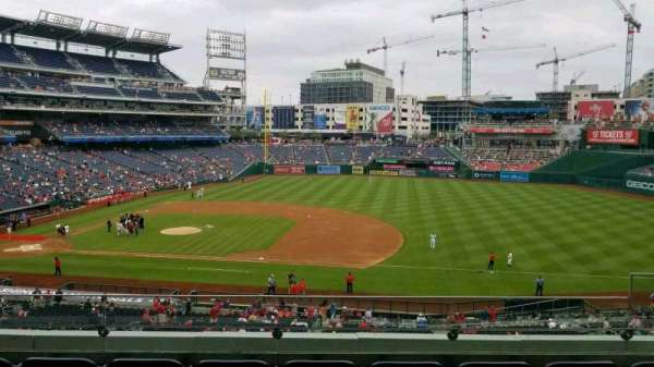 Nationals Park, section: 220, row: E, seat: 6