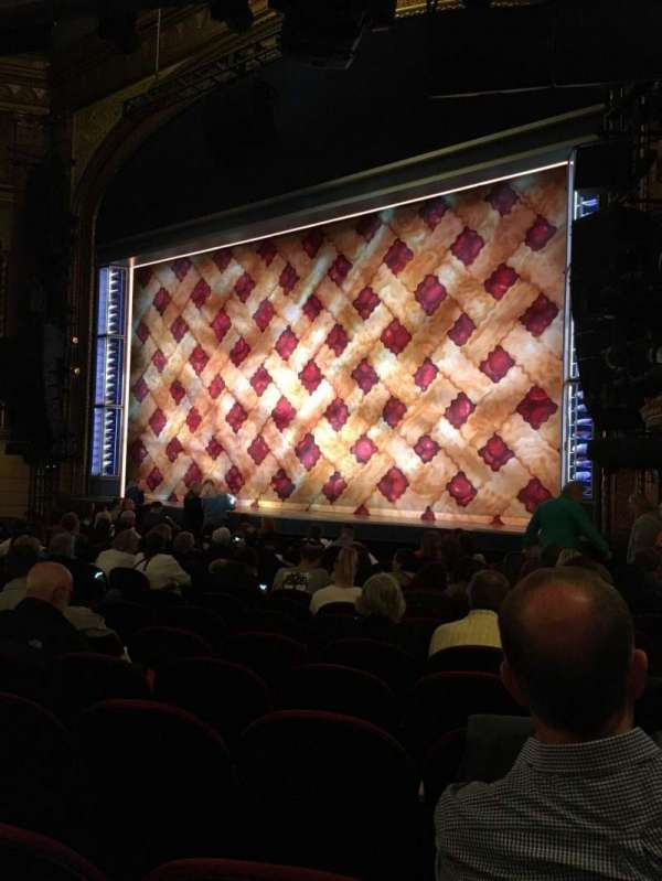 Brooks Atkinson Theatre, section: Orchestra R, row: M, seat: 22