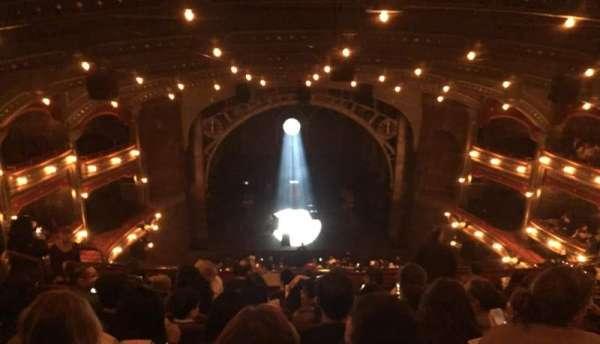 Lyric Theatre, section: Balcony C, row: H, seat: 104