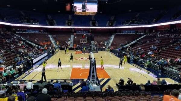 Mohegan Sun Arena, section: 11, row: N, seat: 10