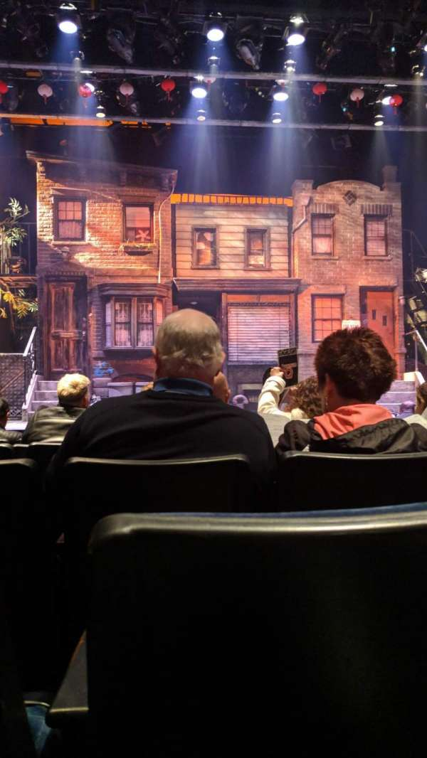 New World Stages - Stage 3, section: Orchestra, row: G, seat: 106