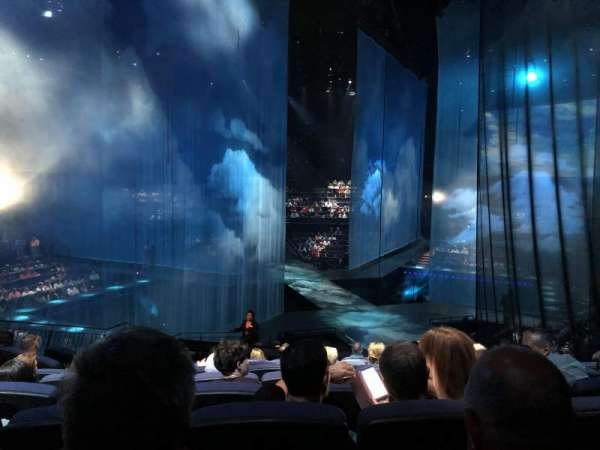 Love Theatre - The Mirage, section: 205, row: T, seat: 10