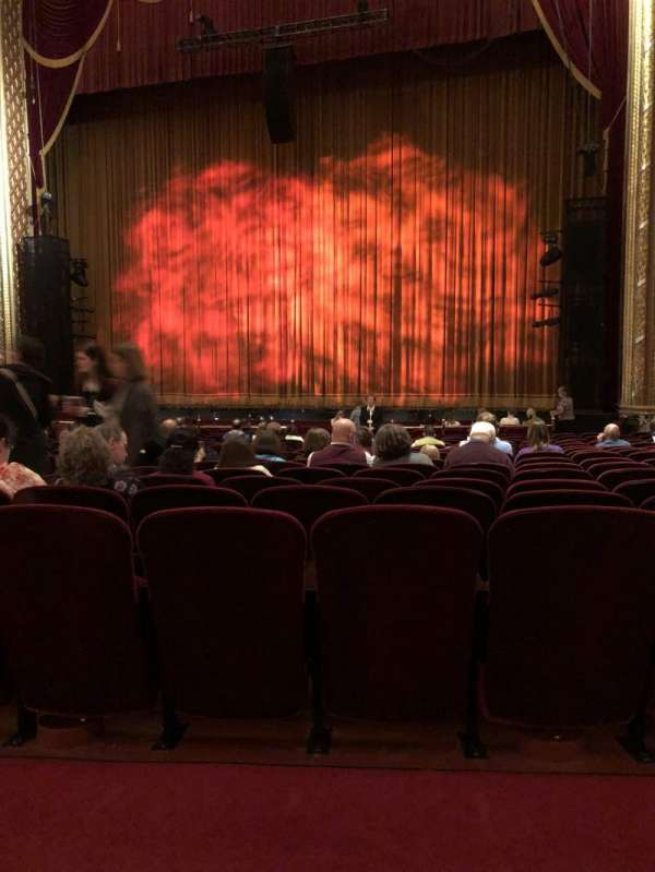 Wang Theatre, section: Orchestra, row: P, seat: 14