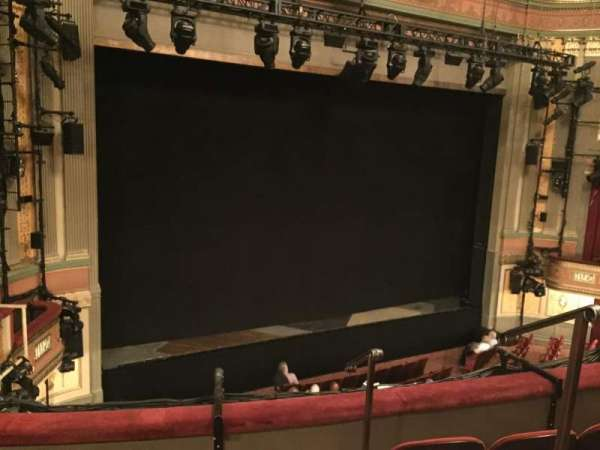 Neil Simon Theatre, section: Front Mezzanine L, row: D, seat: 1
