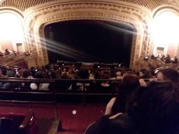 tivoli theatre, section: Uppbalc care rht, row: K, seat: 102