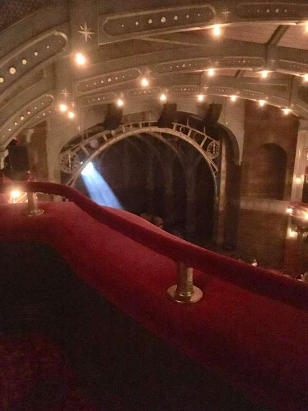 Lyric Theatre, section: Balcony L, row: A, seat: 29