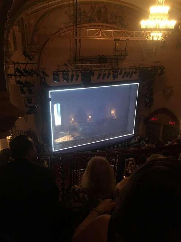 John Golden Theatre, section: Rear Mezz, row: F, seat: 131