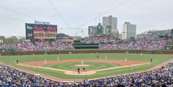 Wrigley Field, section: 217, row: 10, seat: 17